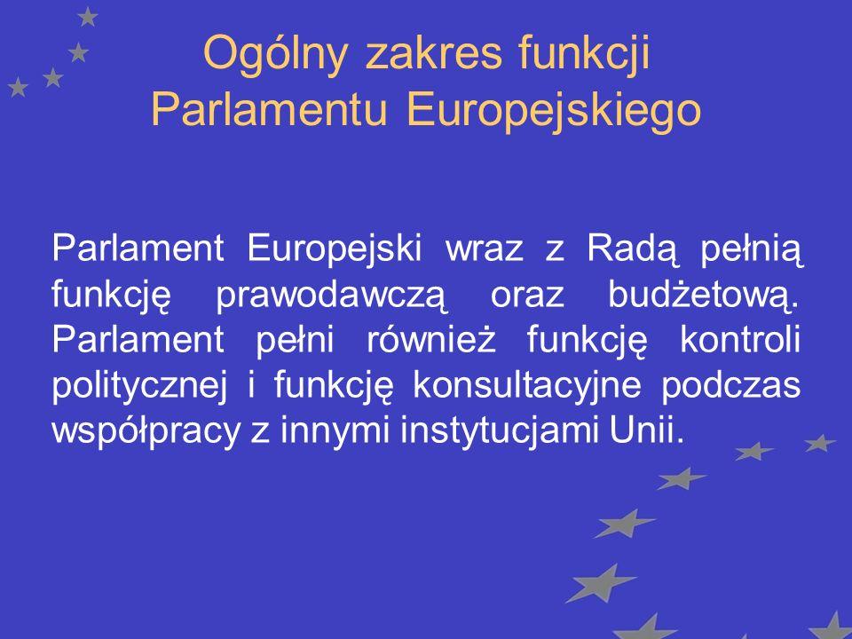 Procedura współdecyzji Żródło: http://eur-lex.europa.eu/pl/droit_communautaire/procedure_de_codecision.gif