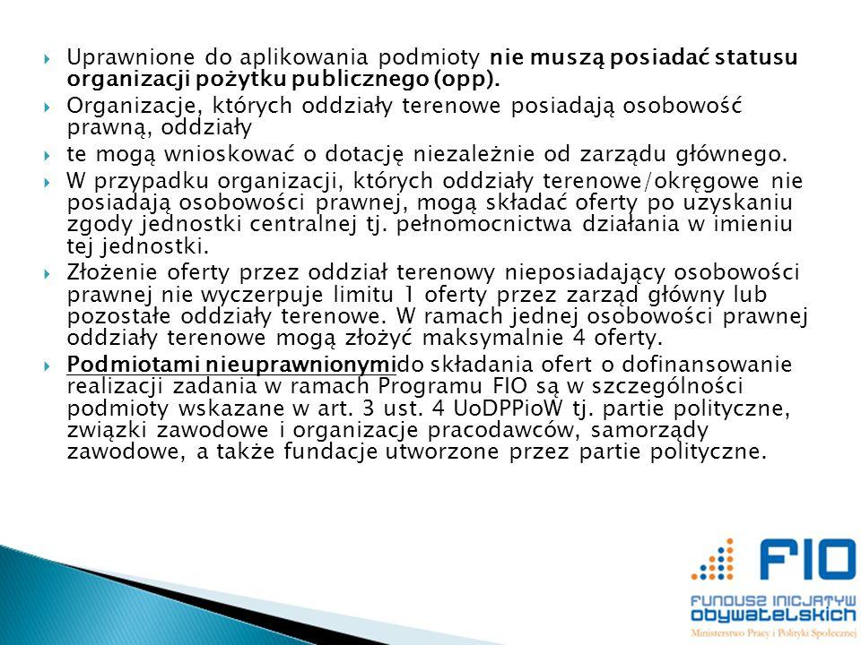 Kryteria merytoryczne w 2014 r.Maksymalna ilość punktów Minimum punktowe 1.