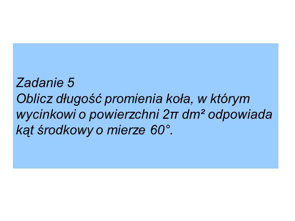 Zadanie domowe Zadanie 7 str. 64 [w:] Podręcznik dla klasy II gimnazjum wyd. GWO.