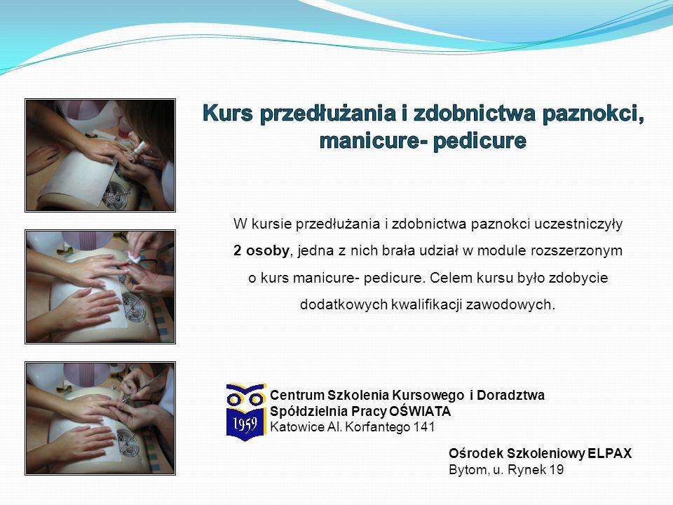 Centrum Szkolenia Kursowego i Doradztwa Spółdzielnia Pracy OŚWIATA Katowice Al.