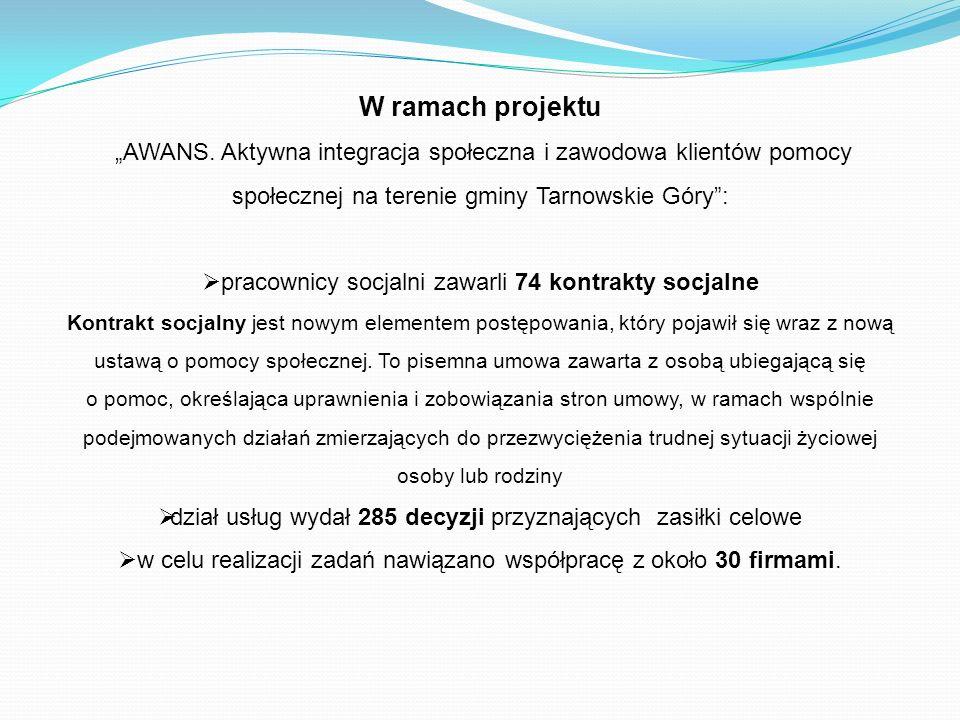 W ramach projektu AWANS.