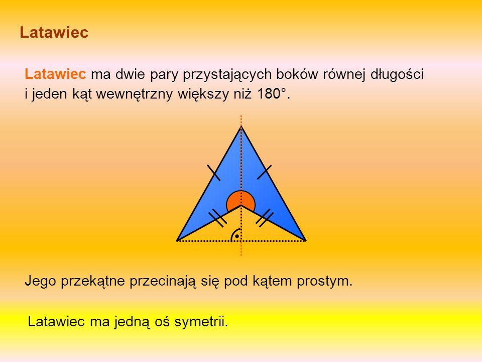 Trapez prostokątny W trapezie prostokątnym jeden z nierównoległych boków jest prostopadły do obu podstaw. Trapez prostokątny ma dwa kąty proste. Nie m