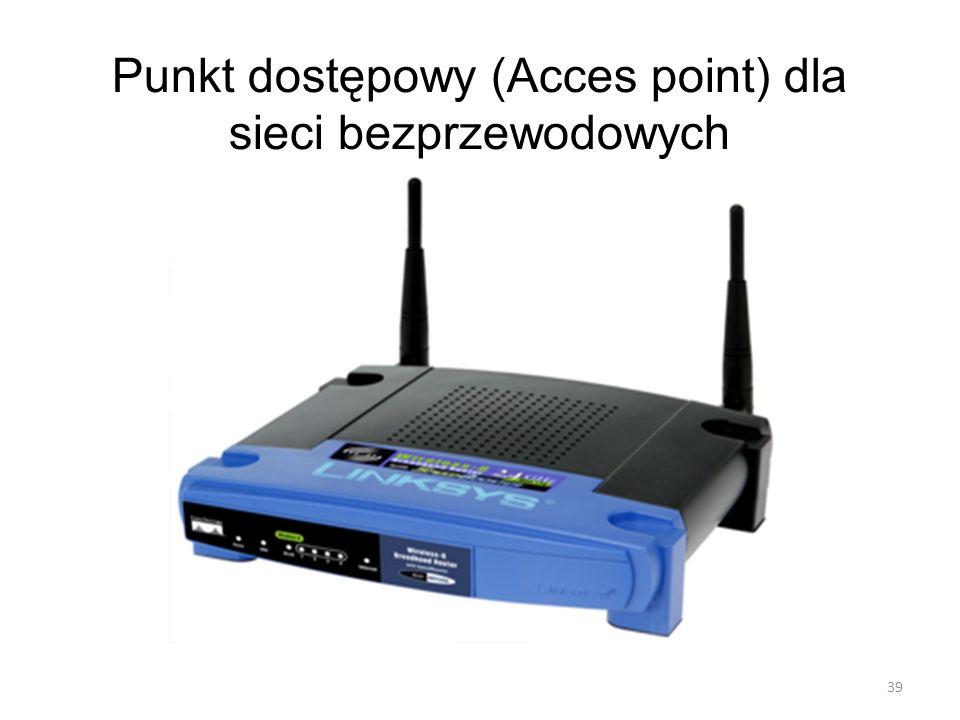 Punkt dostępowy (Acces point) dla sieci bezprzewodowych 39