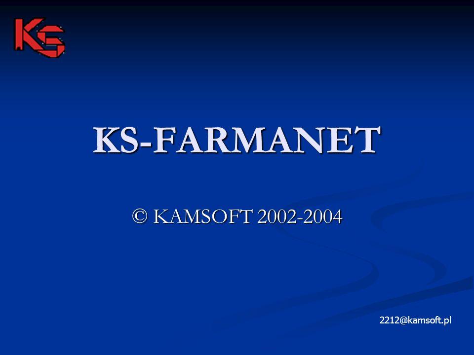 KS-FARMANET © KAMSOFT 2002-2004 2212@kamsoft.pl