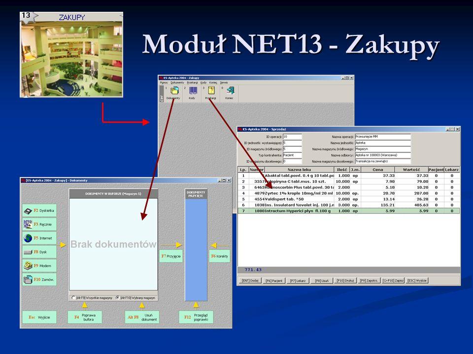 Moduł NET13 - Zakupy Moduł NET13 - Zakupy