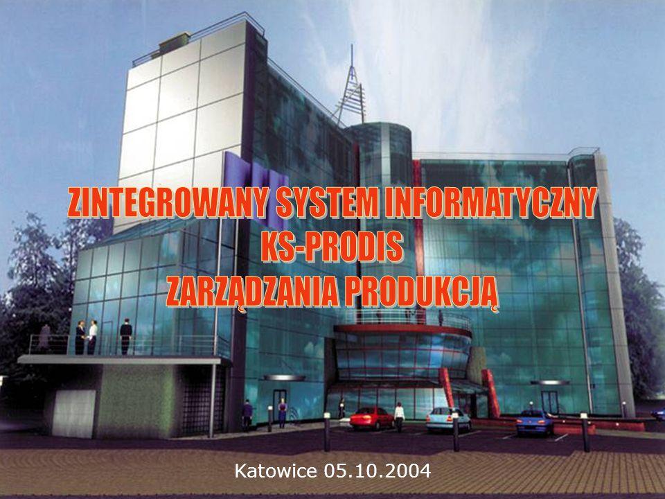 IDEA POWSTANIA Finanse Zakupy Produkcja Sprzedaż PRZEDSIĘBIORSTWO PRODUKCYJNE PRZEDSIĘBIORSTWO PRODUKCYJNE Kadry Magazyn KS-FK KS-KP KS-GM PRODIS