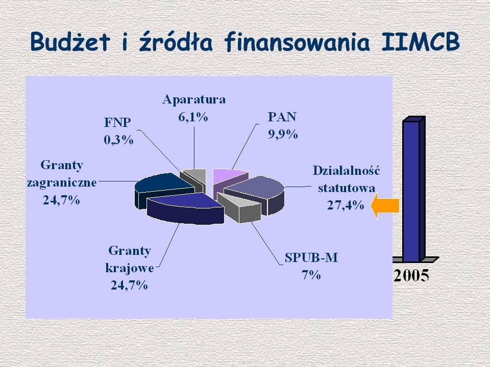 Budżet i źródła finansowania IIMCB Euro