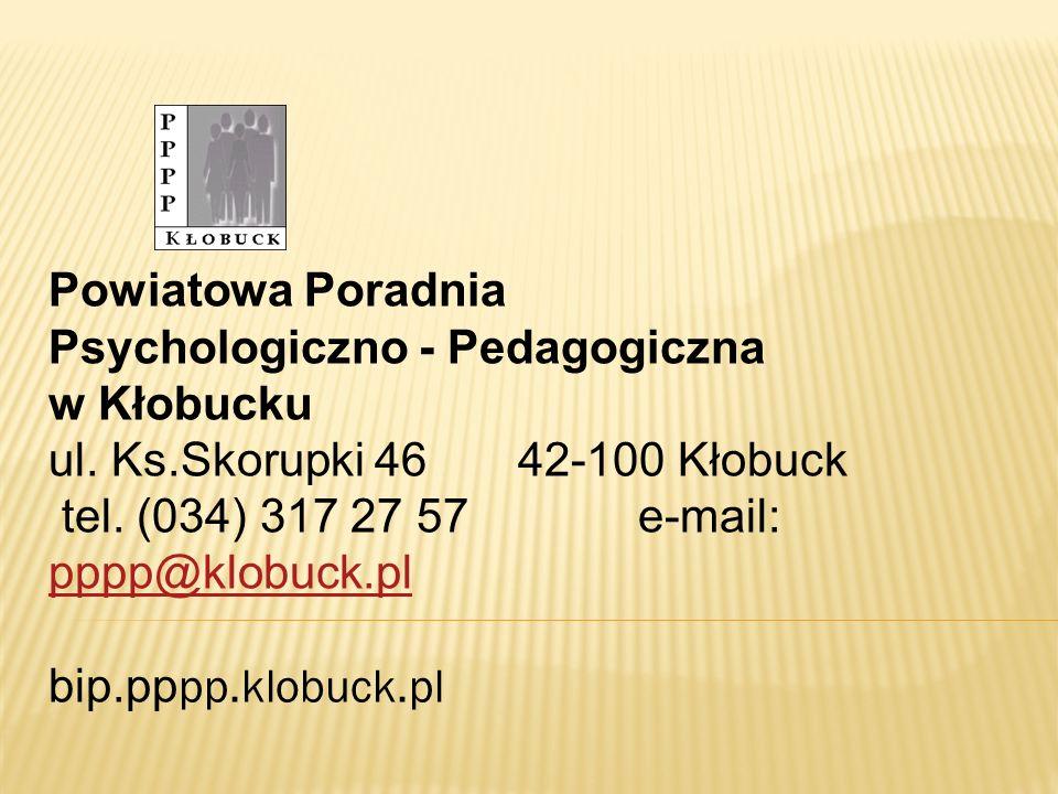 Powiatowa Poradnia Psychologiczno - Pedagogiczna w Kłobucku ul.