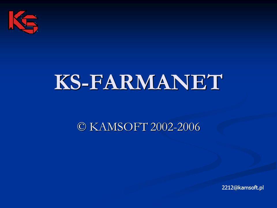 KS-FARMANET © KAMSOFT 2002-2006 2212@kamsoft.pl