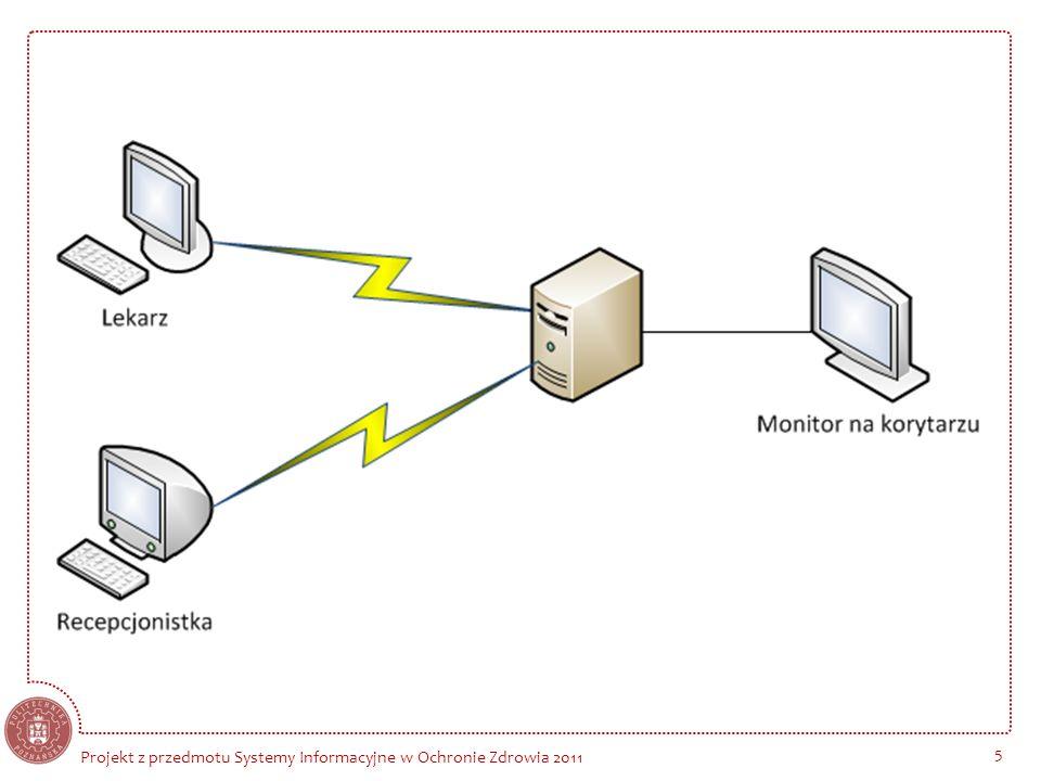 Projekt z przedmotu Systemy Informacyjne w Ochronie Zdrowia 2011 5