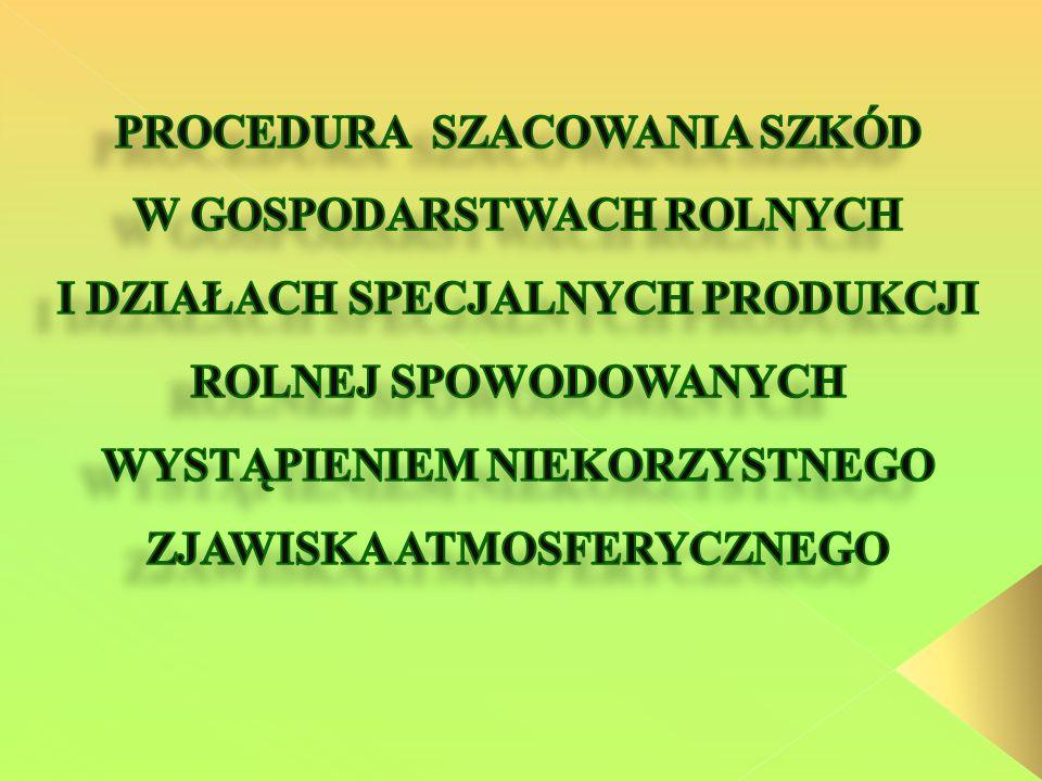 Brak czytelnych podpisów komisji i rolnika Błędne nazewnictwo niekorzystnego zjawiska atmosferycznego Brak daty przeprowadzenia lustracji Pomijanie upraw w których nie ma szkód Nieuwzględnianie produkcji zwierzęcej w protokołach Nieuwzględnianie całej powierzchni upraw w gospodarstwie Nieuzupełnienie protokołu o wyliczony % poziom szkód Brak potwierdzenia zgodności kserokopii dokumentów z oryginałem Nieprecyzyjne nazwy upraw