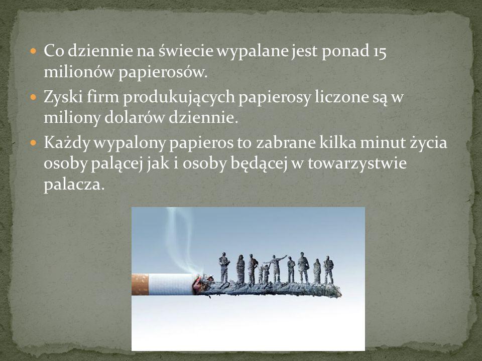 Czy warto narażać się na to wszystko, by przypodobać się innym osobom, które palą.
