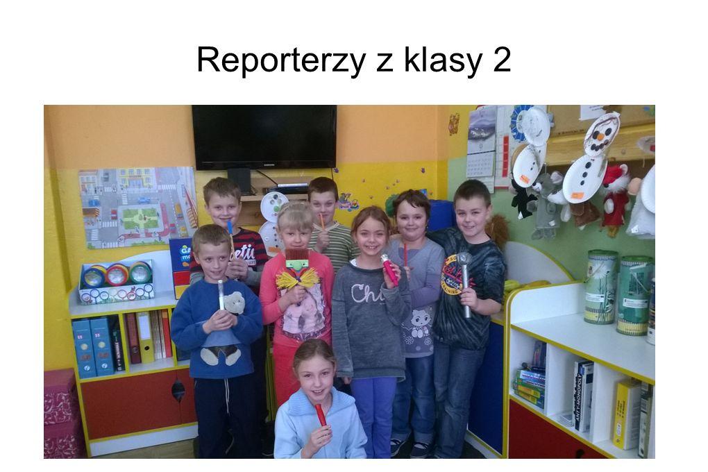 Reporterzy z klasy 2