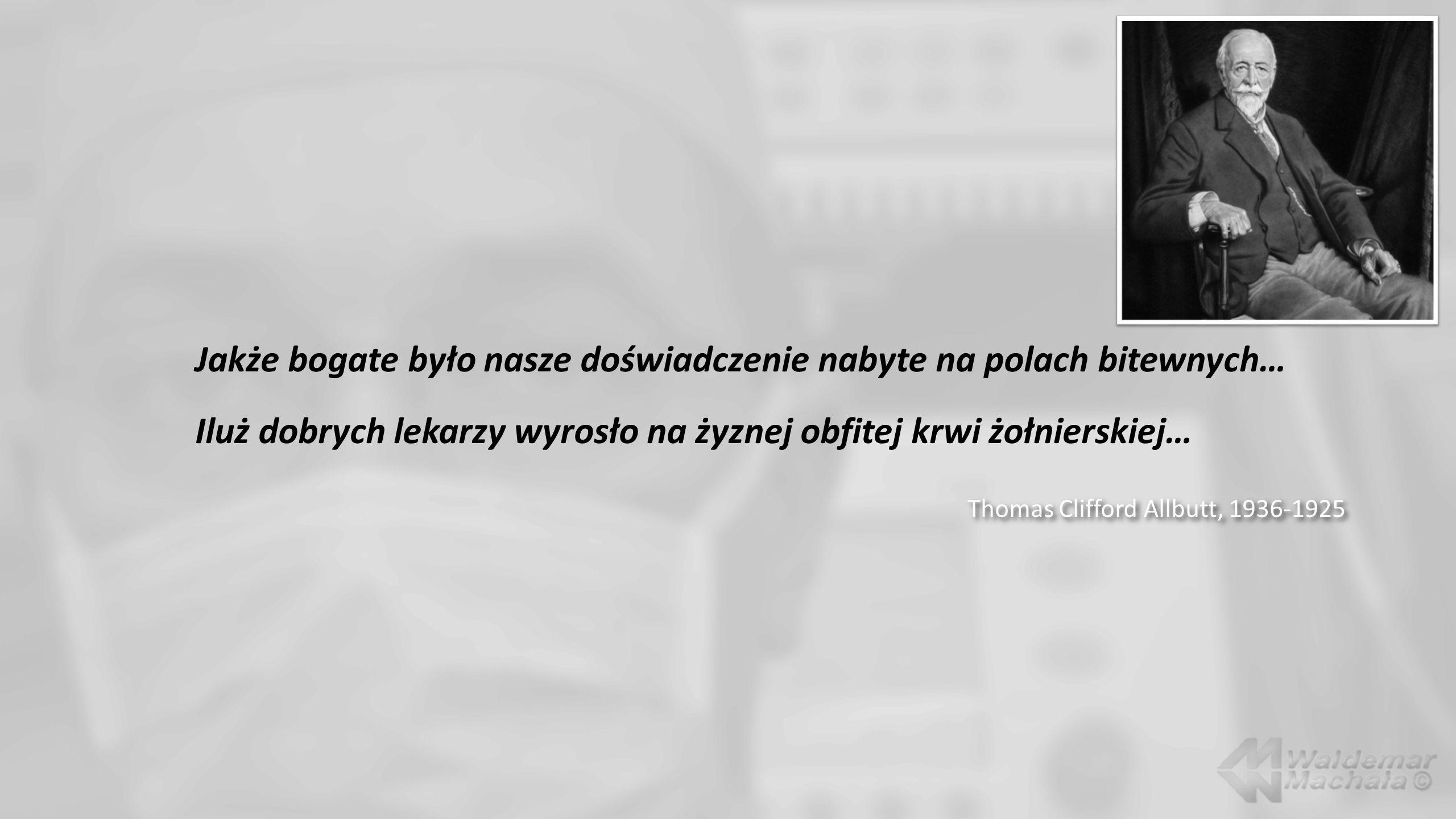 Waldemar Machała Wojsko - wyrównywanie strat krwi krążącej.