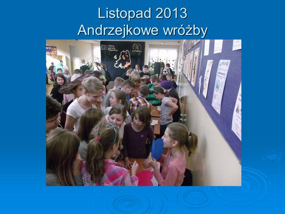 Grudzień 2013 Szkolna Loteria Mikołajkowa