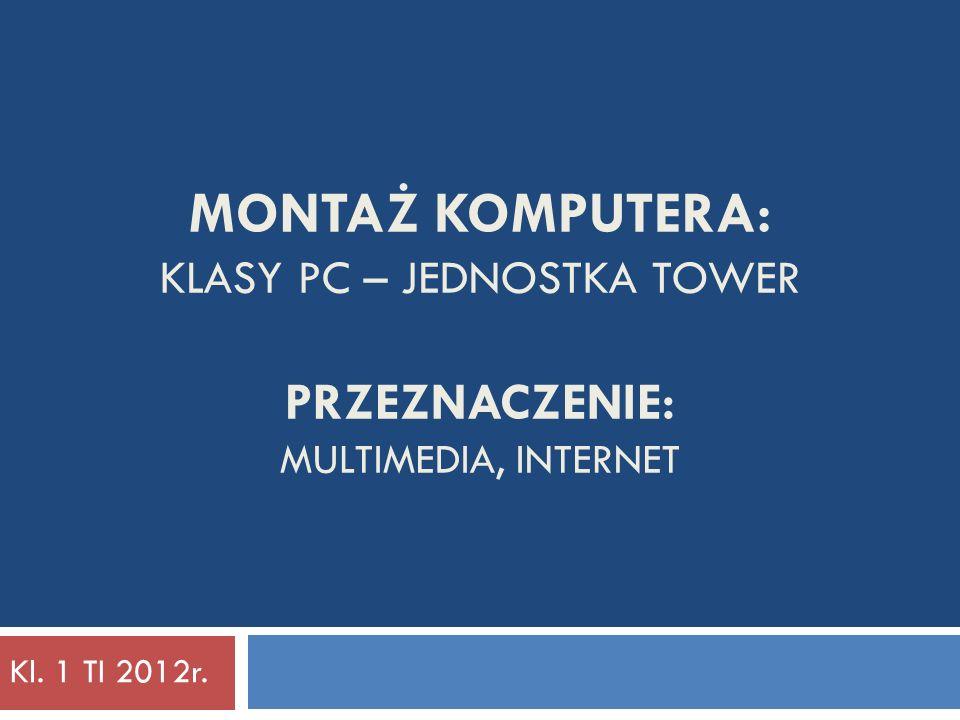 System Operacyjny: MS Windows 7 Home Basic - OEM 370 zł Wymagania sprzętowe:Planowany komputer: 32 bit:64 bit: CPU: RAM: HDD: Grafika: VideoRAM: 1 GHz x86 1GB 16 GB DirectX 9.0 128 MB 1 GHz x86 - 64b 2 GB 20 GB DirectX 9.0 128 MB 2 GHz x86 - 64b 4 GB 3,5 TB (1,5 TB + 2 TB) DirectX 11 512 MB