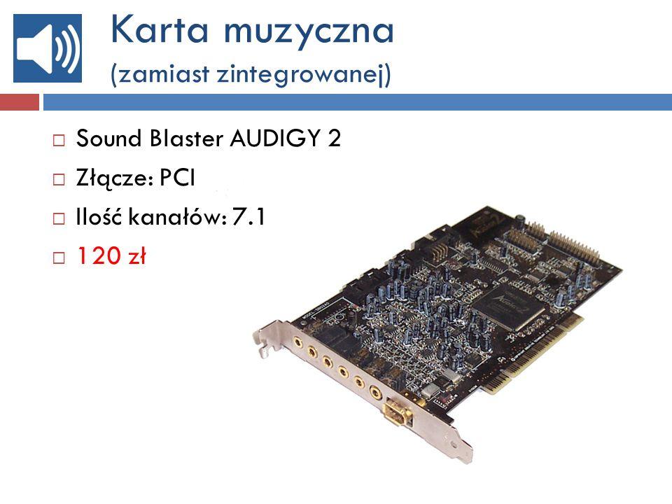 Obudowa komputera: SPECYFIKACJA TECHNICZNA 70zł