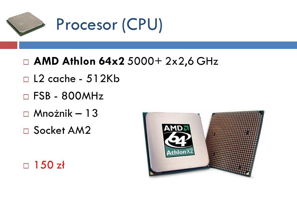 Dyski twarde (HDDs) 1xHDD 3,5 WDCaviar 1,5 TB (WD15EARX) – SATA 3GB/s - 7200 RPM (system operacyjny Windows 7 Home) – 440 zł 1x HDD 3,5 WDCaviar 2 TB (WD20EARS) – SATA 3 GB/s - 7200 RPM (dane) – 400 zł
