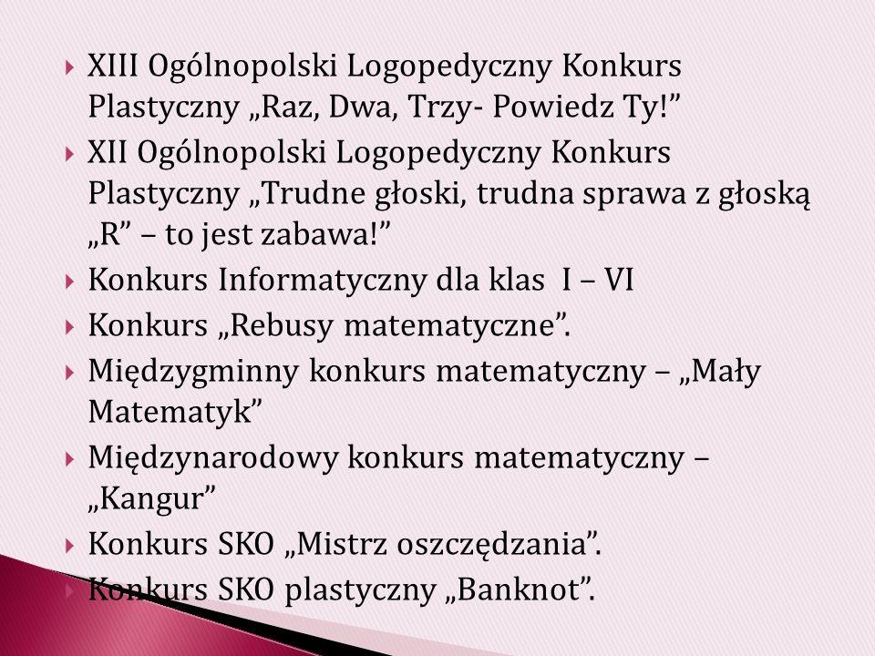 KONKURS Moje wspomnienie – świadectwo o Janie Pawle II Uczniowie klas IV – VI naszej szkoły brali udział w konkursie literackim Moje wspomnienie - świadectwo o Janie Pawle II organizowanym przez Gimnazjum Miejskie w Jedlinie – Zdroju.