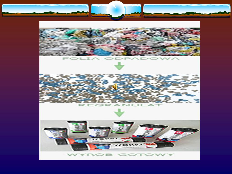 Recykling dzieli Się na poszczególne etapy: Sortowanie Polega na rozdzieleniu różnych rodzajów odpadów.
