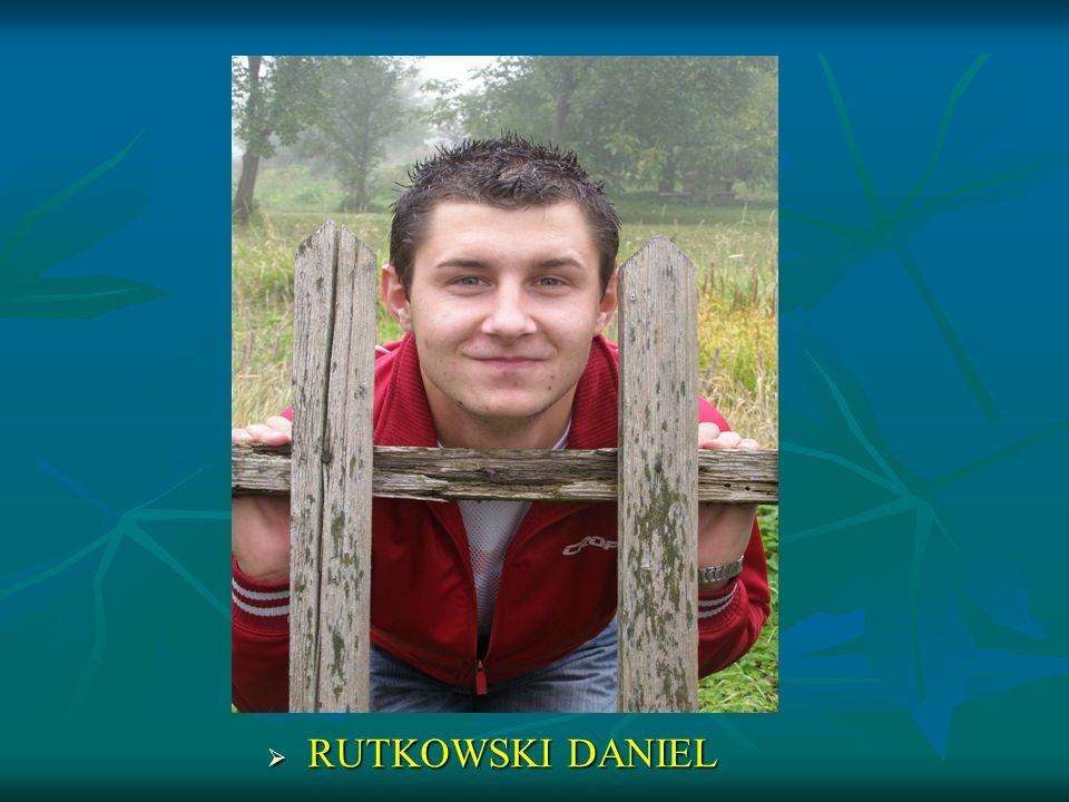 RUTKOWSKI DANIEL RUTKOWSKI DANIEL