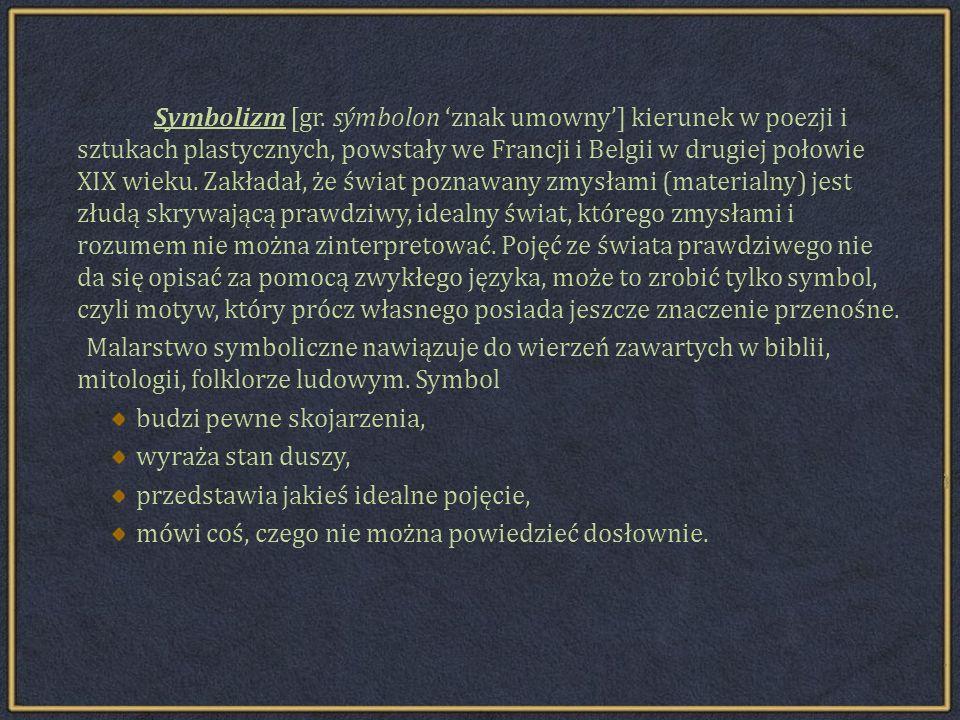 Symbolizm [gr.
