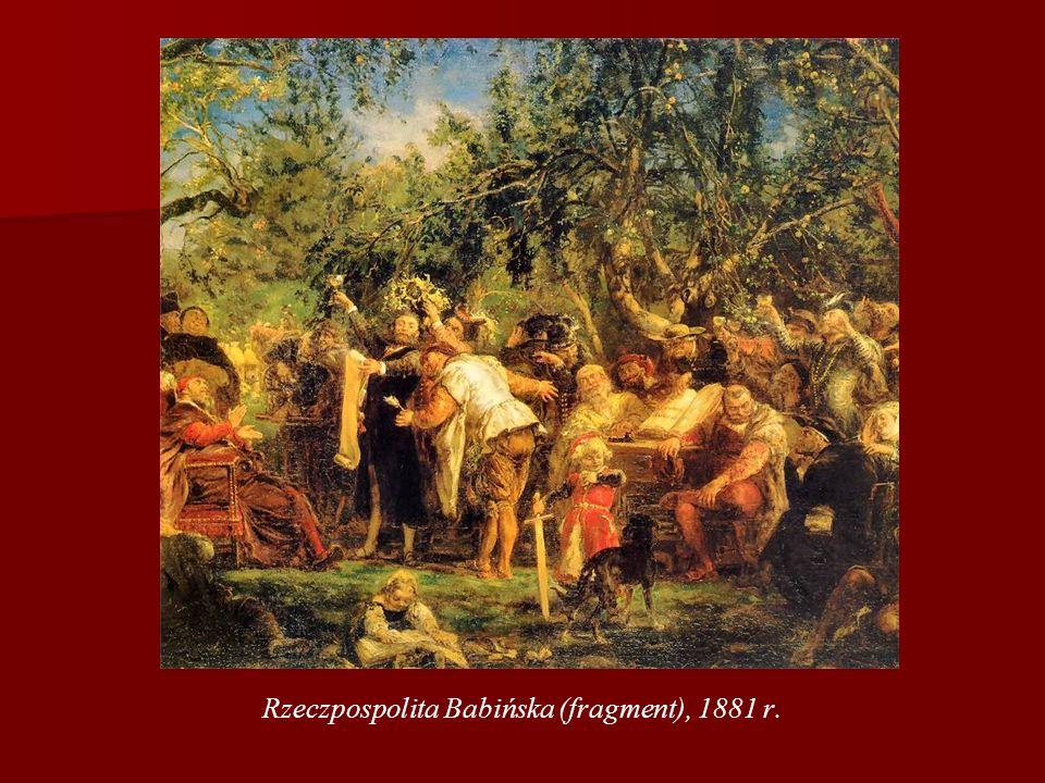 Rzeczpospolita Babińska (fragment), 1881 r.