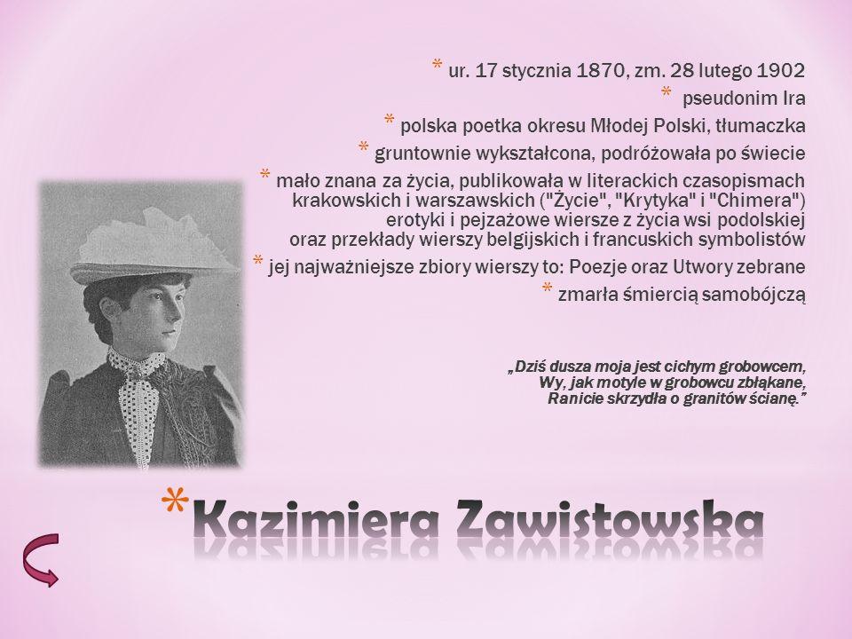* Sztuka Zapolskiej jest tragifarsą, czyli połączeniem elementów komedii z elementami tragedii.