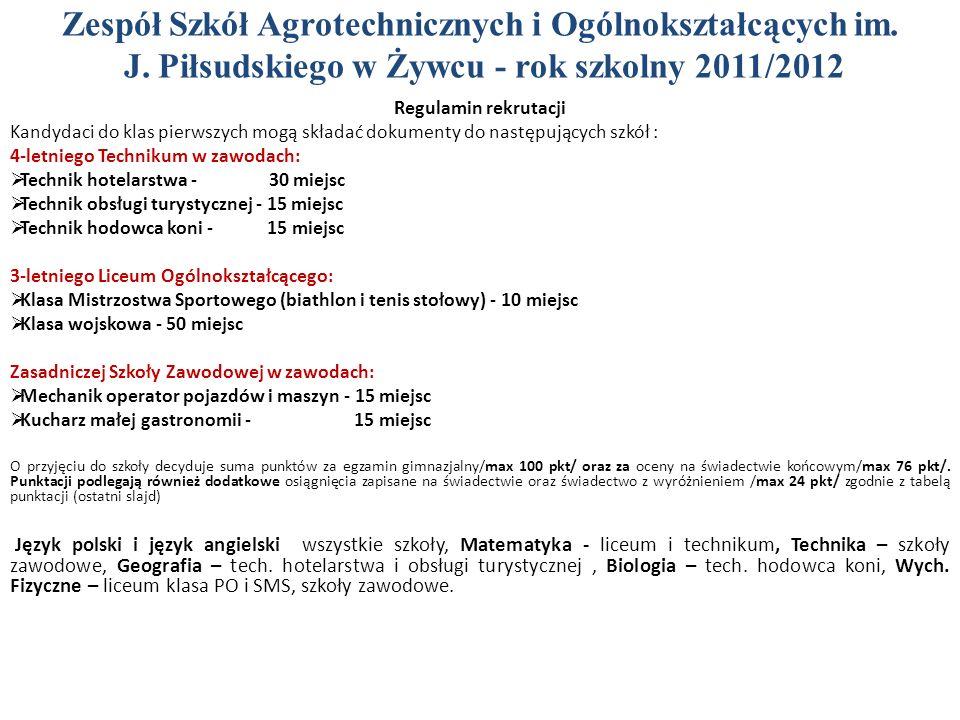 Zespół Szkół Agrotechnicznych i Ogólnokształcących im.