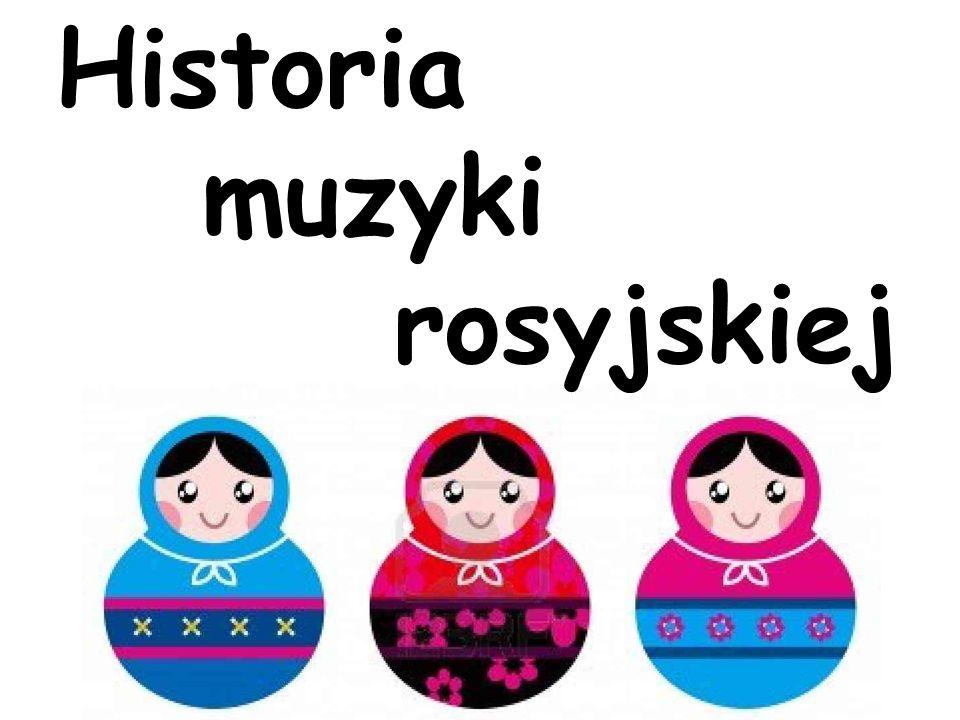 Я люблю музыку Czyli muzyka rosyjska w pigułce…