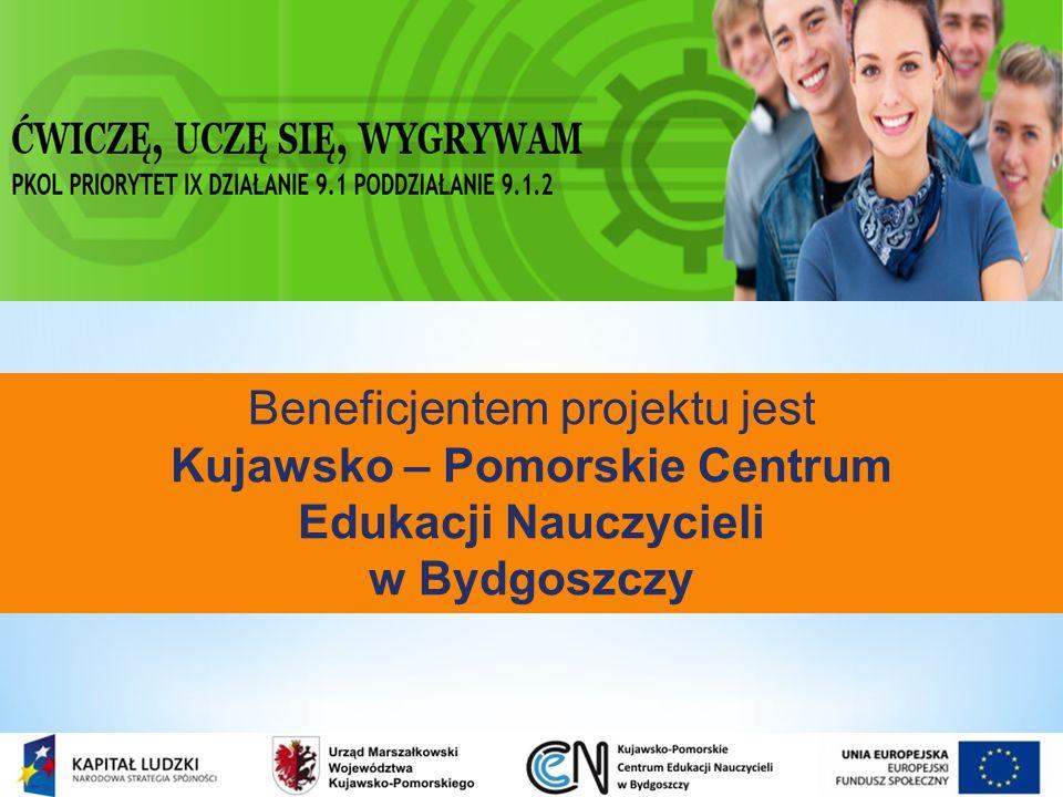 Projekt skierowany jest do 100 gimnazjów województwa kujawsko-pomorskiego.