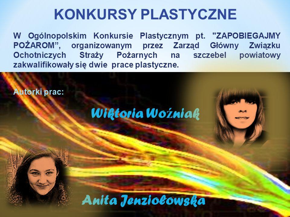 W Ogólnopolskim Konkursie Plastycznym pt.