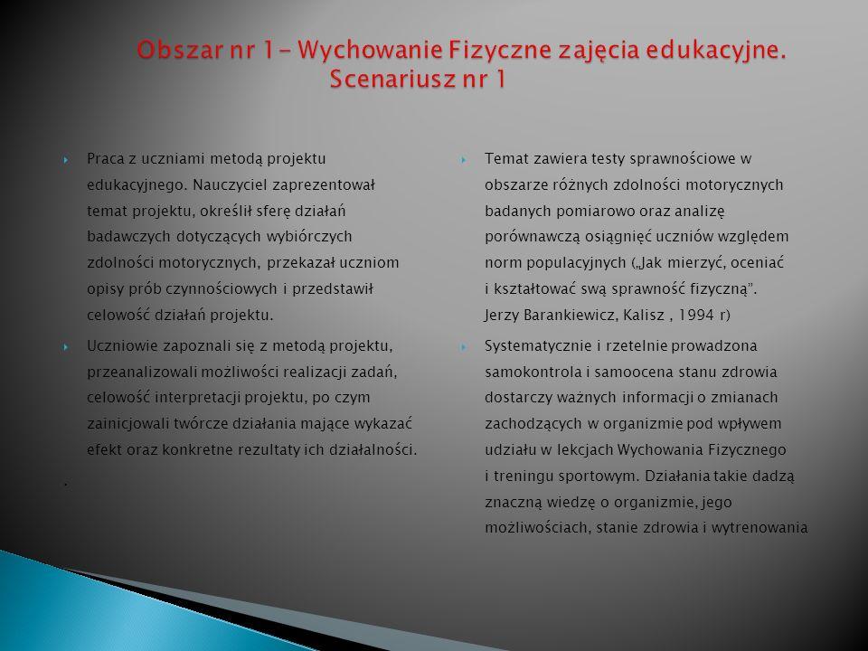 Temat; Samokontrola i samoocena w sferze zdolności motorycznych oraz stanu zdrowia uczniów.