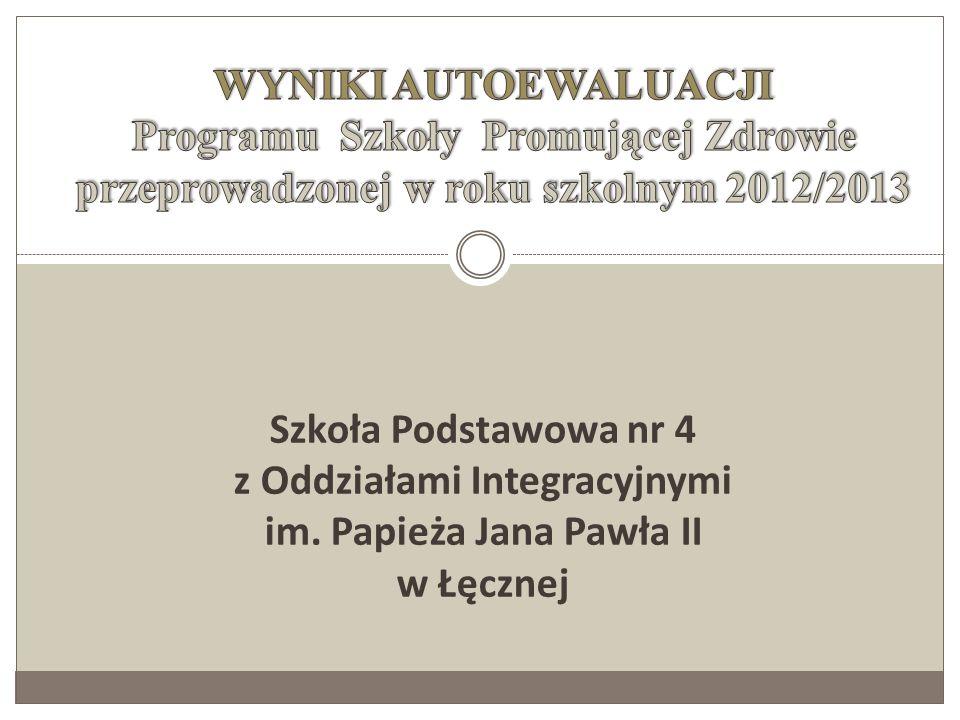 Szkoła Podstawowa nr 4 z Oddziałami Integracyjnymi im. Papieża Jana Pawła II w Łęcznej