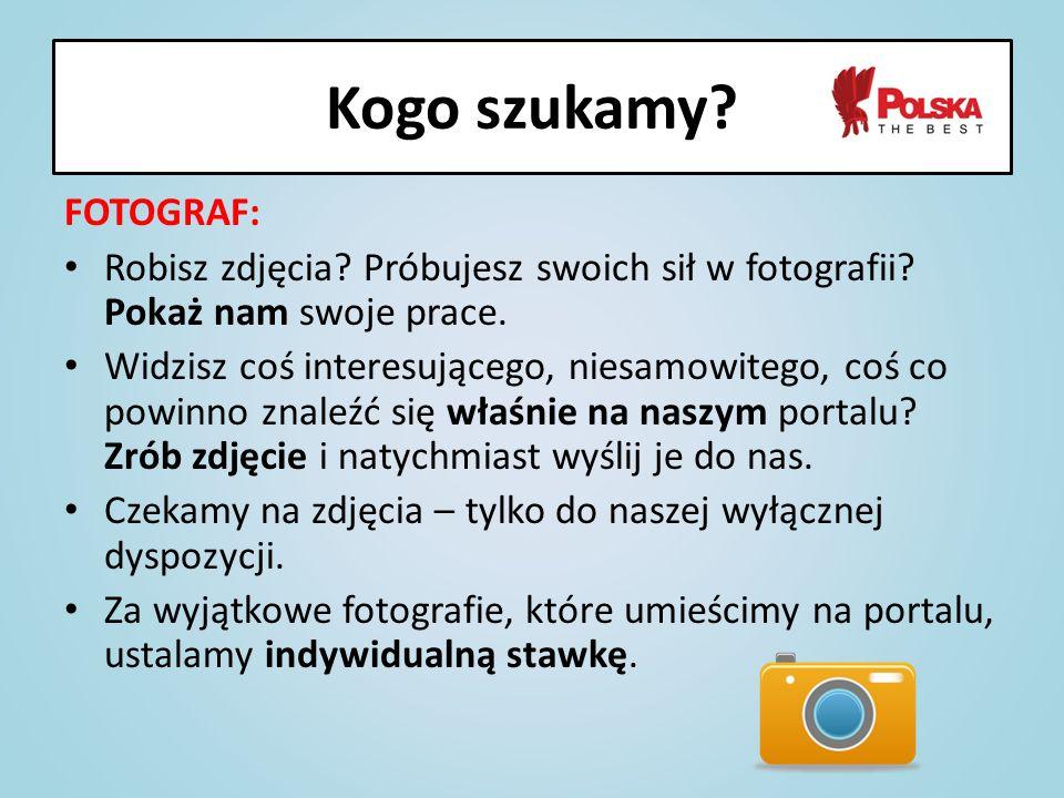 FOTOGRAF: Robisz zdjęcia? Próbujesz swoich sił w fotografii? Pokaż nam swoje prace. Widzisz coś interesującego, niesamowitego, coś co powinno znaleźć