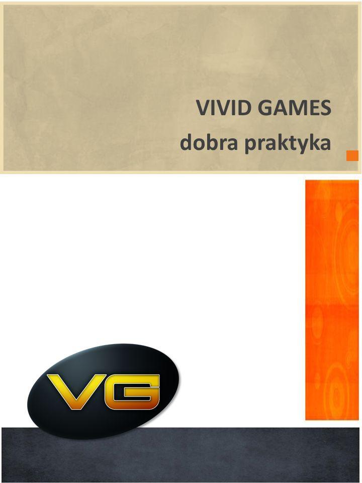 VIVID GAMES dobra praktyka wprowadzenie POWERPOINT 2010