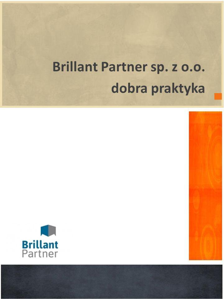 Brillant Partner sp. z o.o. dobra praktyka wprowadzenie POWERPOINT 2010