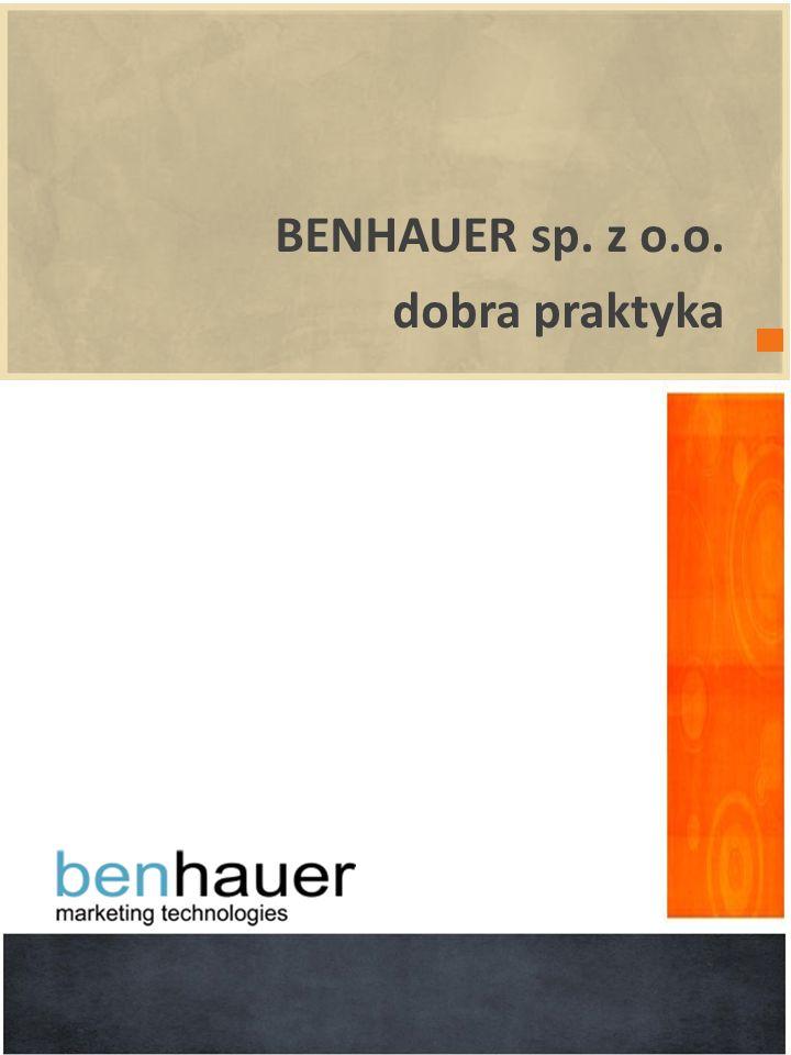 BENHAUER sp. z o.o. dobra praktyka wprowadzenie POWERPOINT 2010