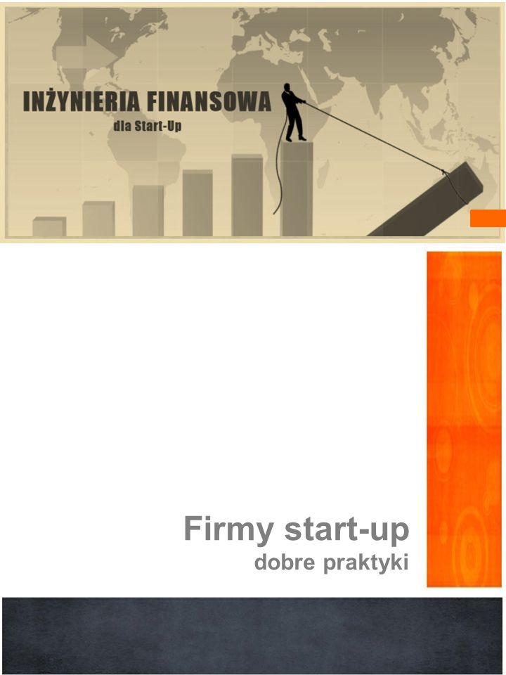 Firmy start-up dobre praktyki
