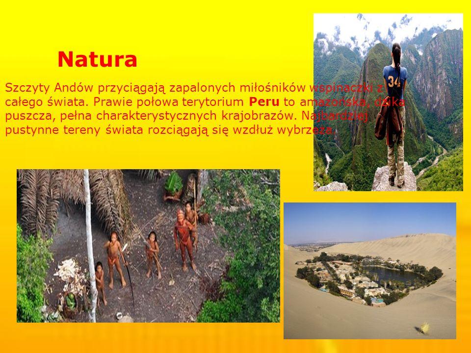 Natura Szczyty Andów przyciągają zapalonych miłośników wspinaczki z całego świata.