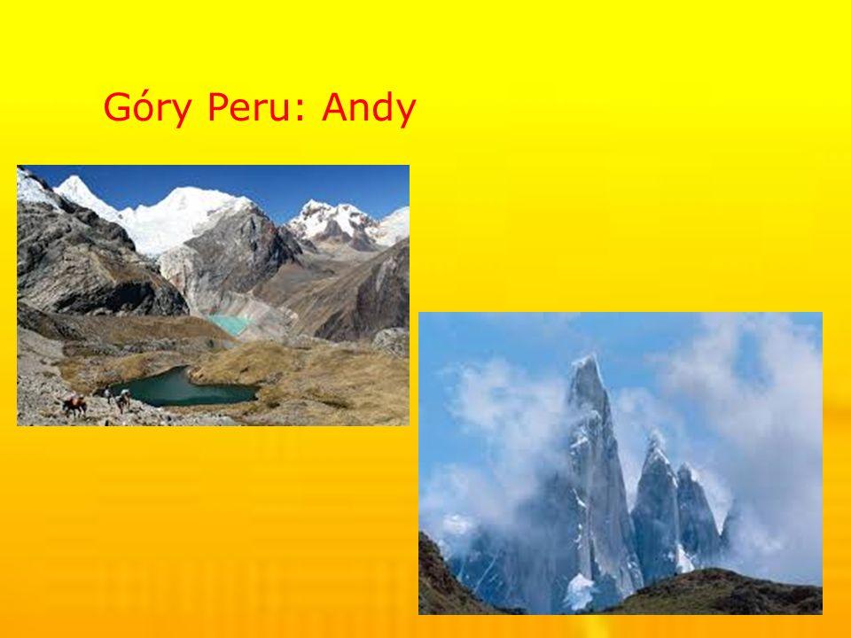 Góry Peru: Andy