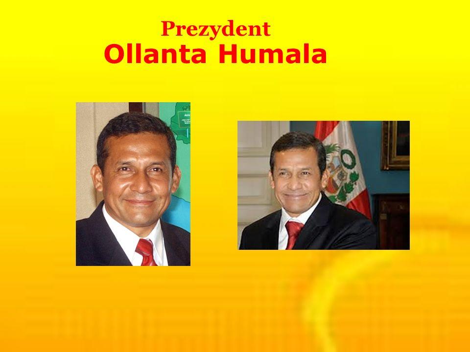 Prezydent Ollanta Humala