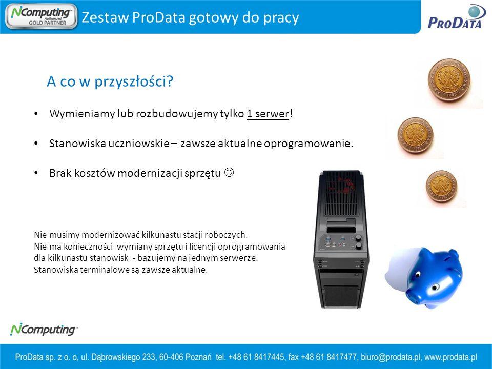 Zestaw ProData gotowy do pracy A co w przyszłości.