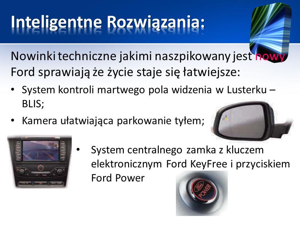 Nowinki techniczne jakimi naszpikowany jest nowy Ford sprawiają że życie staje się łatwiejsze: System kontroli martwego pola widzenia w Lusterku – BLI