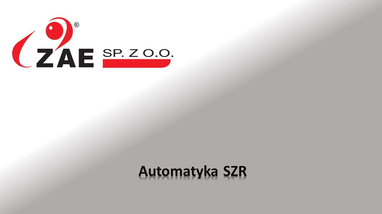 Automatyka SZR 2/10 Są to automaty zaprojektowane i wykonane przez firmę ZAE Sp.