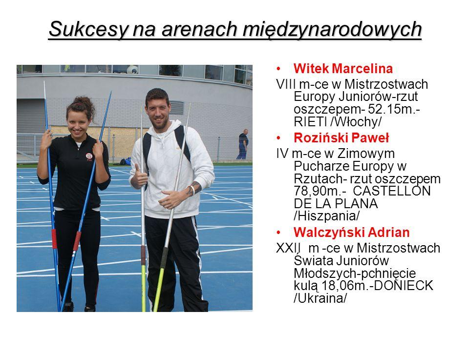 Medale zdobyte podczas zawodów rangi mistrzowskiej 201020112012 2013 Mistrzostwa Polski 455 5 ( 1 hala) + 3 medale (MP Weteranów) Mistrzostwa Makroregionu 107118 Mistrzostwa Województwa 11 1829 ( 10 hala) Razem25233445