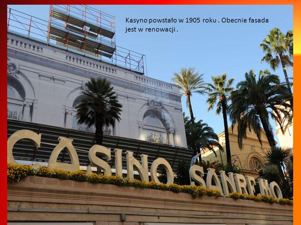 Sanremo to również urok kasyna, dzwonienie kulki w ruletce, szelest żetonów na zielonej tkaninie...Niektórych ta namietność kosztowała fortunę.