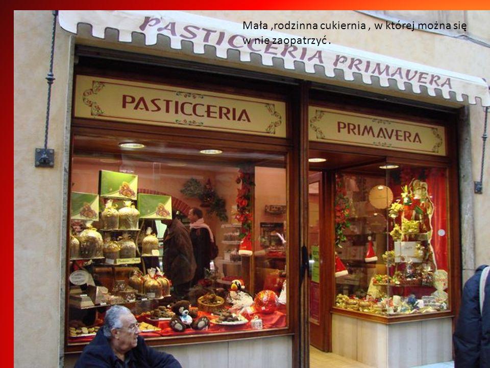 Włosi przykładają ogromną wagę do jedzenia, śródziemnomorska dieta nie sobie równych,jedyną pokusą są ciasteczka z Sanremo, ciężko się im oprzeć.