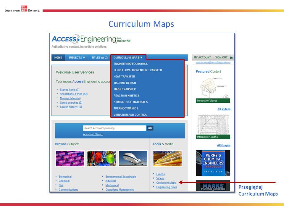 Przeglądaj Curriculum Maps