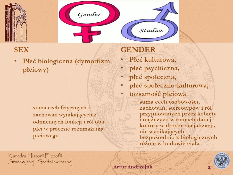 Koncepcja człowieka Sfera biologiczna Sfera kulturowa (psychiczna, społeczna) duszaciało Artur Andrzejuk 3